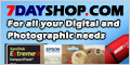 7dayshop.com For all your Digital and Photographic needs