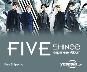 SHINee - FIVE [TYPE A] (ALBUM + BLU-RAY)