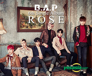 B.A.P Single Album Vol. 6 - Rose