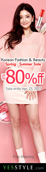 Korean Beauty & Fashion Sale Up to 80% off