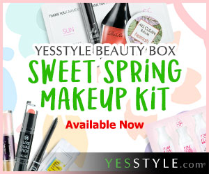 YesStyle's Beauty Box - Sweet Spring Makeup Kit