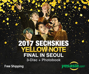 2017 SechsKies Yellow Note Final in Seoul (3DVD + Photobook + Postcard Set) (Korea Version)