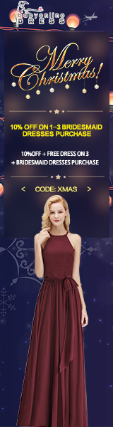 Bridesmaid Dress Christmas Sale
