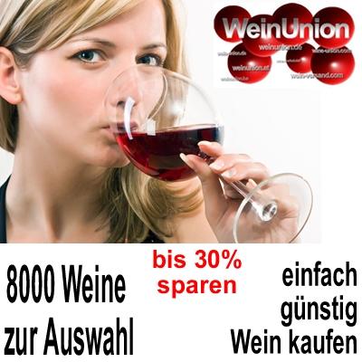 8000 Weine WeinUnion der guenstige Weinhandel