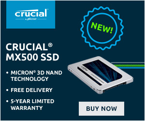 Crucial MX500 SSD