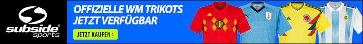 offizielle WM Trikots jetzt verfügbar