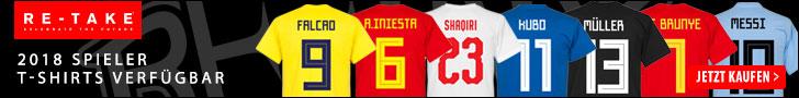 Retake - 2018 Spieler T-shirts verfügbar