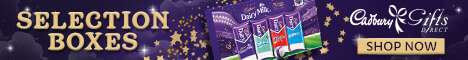 Selection Boxes from Cadbury Gifts Direct
