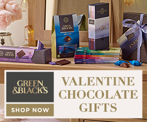 Green & Black's Valentine's Gifts