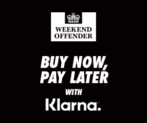 Weekend Offender - Buy Now, Pay Later with Klarna