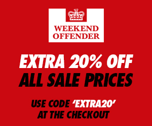 Extra 20% Off Sale | Use discount code 'EXTRA20'