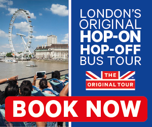 The Original Sightseeing Tour London 300x250px