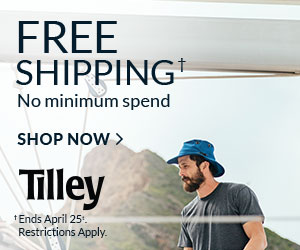 Free Shipping. No minimum spend. Ends April 25th