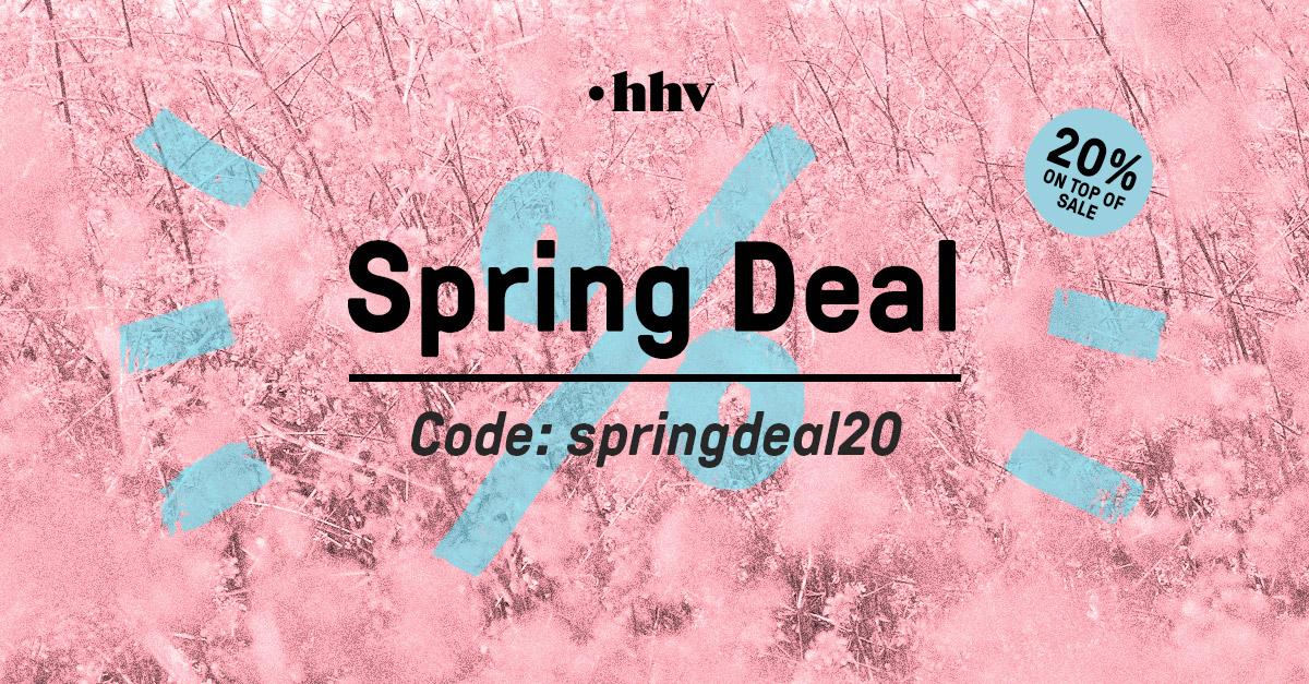 HHV - 20% zusätzlicher Rabatt auf alle Sale Artikel
