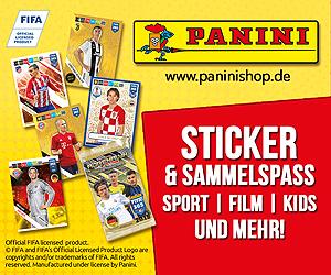 Panini Fussball Sticker Trading Sammelkarten