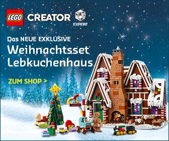 LEGO Lebkuchenhaus im LEGO Online Shop