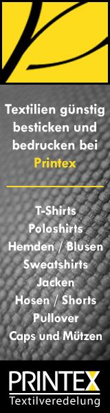 Printex - Firmen- und Vereinsbekleidung bedrucken und besticken