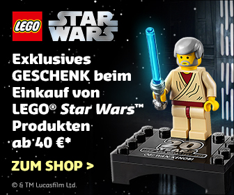 Gratis LEGO Obi-Wan Kenobi Jubiläumsfigur