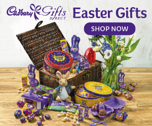 Beautiful Cadbury chocolate gifts the whole family can enjoy this Easter!
