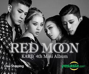 KARD Mini Album Vol. 4 - RED MOON
