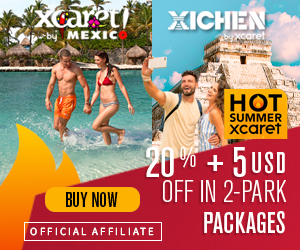 Hot Summer special sale Xcaret + Xichen