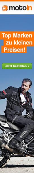 www.motoin.de - Motorradzubeh�r und Motorrad Bekleidung von Top Marken