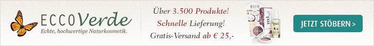 Entdecken Sie die Welt hochwertiger Naturkosmetik auf Ecco Verde! Über 3.500 Produkte - Schnelle Gra
