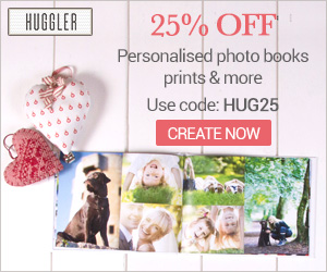 25% OFF off photo books, prints and more...