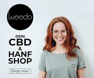 Weedo: Moderner CBD-Shop mit eigenem Cannabis Magazin 1