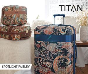 TITAN Spotlight Paisley Reisegepäck