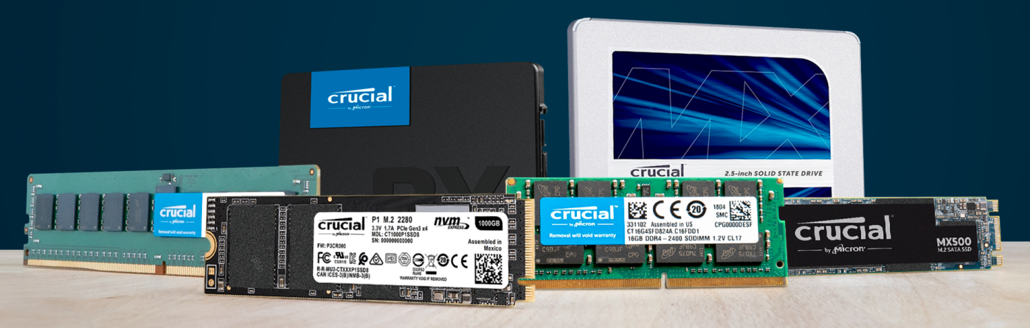 purchasing a Crucial memory upgrade