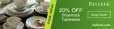 20% Off Shamrock Tableware