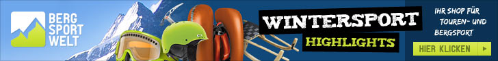 Bergsport-Welt Winter-Highlights
