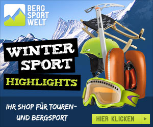 Bergsport-Welt Winter-Highlights