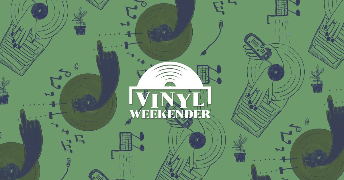 HHV | Vinyl Weekender #6 ('21) - Viel Vinyl für wenig Geld | Do 24. - Mo 28.6.