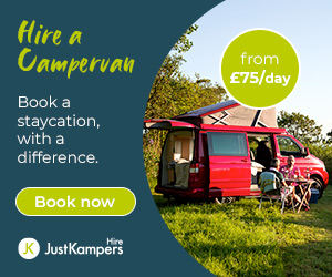 Hire a campervan - Book a staycation with a difference