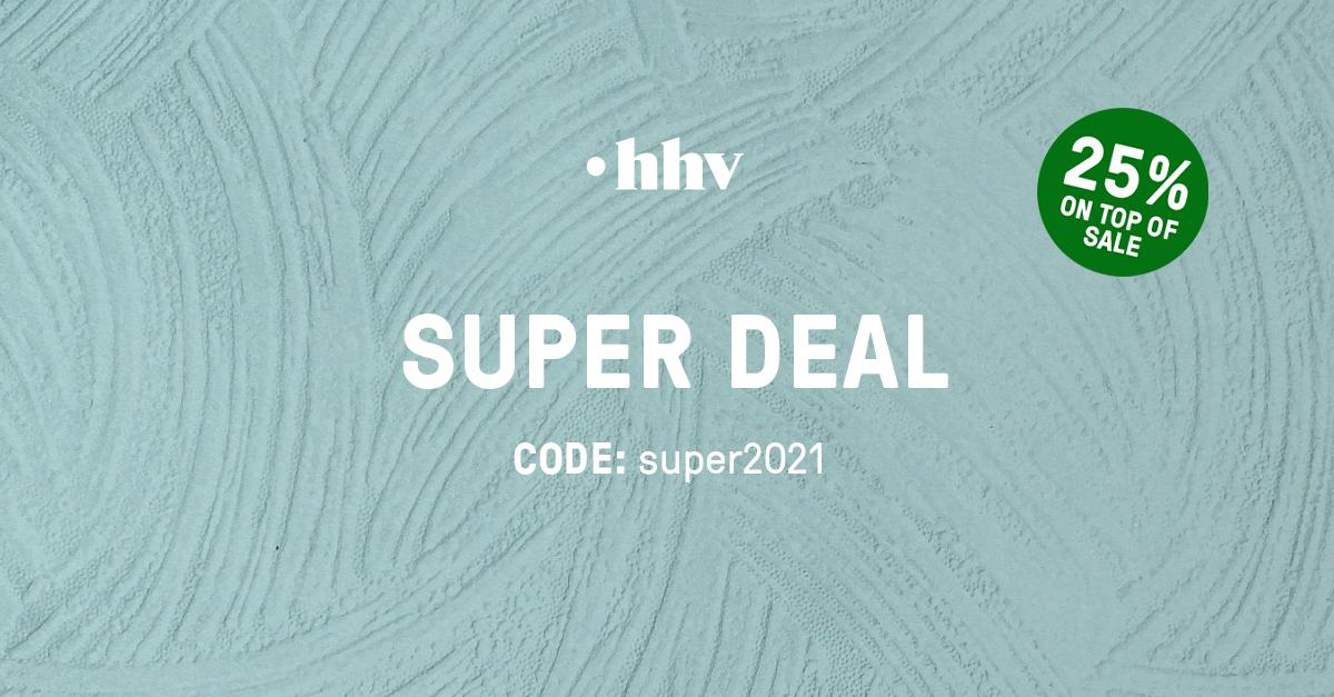 HHV | Superdeal | +25% Extrarabatt auf alle Urban Fashion Sale Artikel | Code: »super2021« | Do 16.