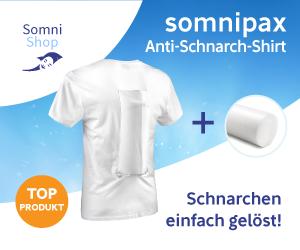 somnipax Anti-Schnarch-Shirt - Schnarchen einfach gelöst!