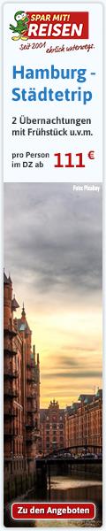 Städtereisen nach Hamburg - jetzt günstig bei Spar mit! Reisen buchen