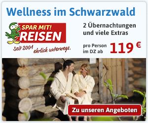 Einfach mal entspannen! Jetzt Wellness-Wochenende im Schwarzwald buchen.