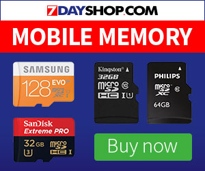 Need more storage for your mobile phone? 7dayshop.com have all your needs & more.
