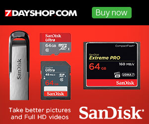 Sandisk Memory - Best prices guaranteed at 7dayshop.com