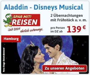 Aladdin - Das Musical in Hamburg