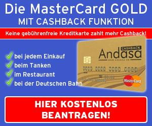 Andasa Mastercard Gold