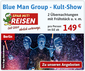 Blue Man Group - Die spektakuläre Show in Berlin