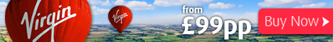 Virgin Balloon Flights Balloon rides image for flights from £99per person