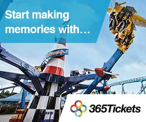 365Tickets - Drayton Manor Park 300x250