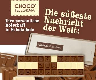 Chocotelegram by chocolissimo