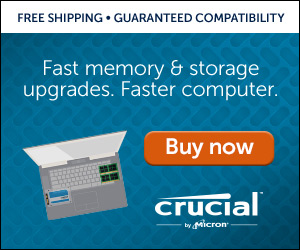 link Computer memory upgrade | Global brand of Micron Technology