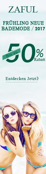 2017 Neue Bademode: Bis zu 50% Rabatt & Gratis Versand ab $30